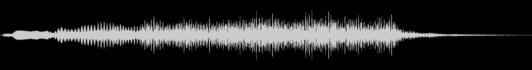 ジングル101oの未再生の波形