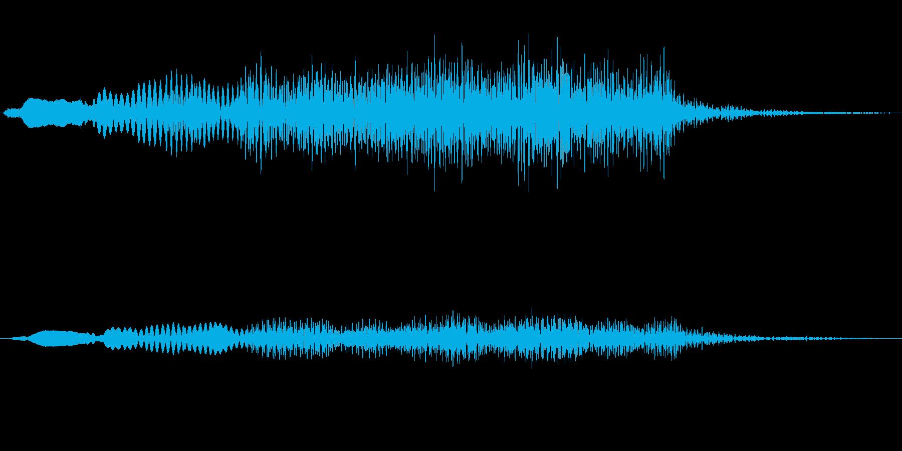 ジングル101oの再生済みの波形