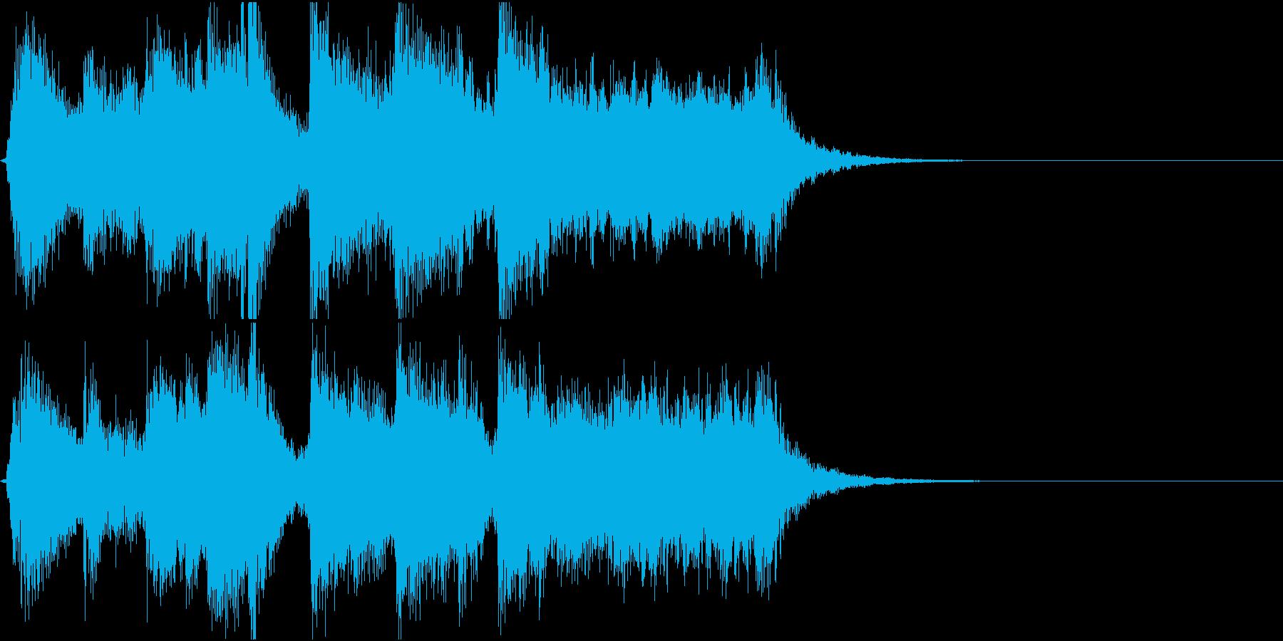 哀愁感じつつも上品さが少し漂うスイング3の再生済みの波形
