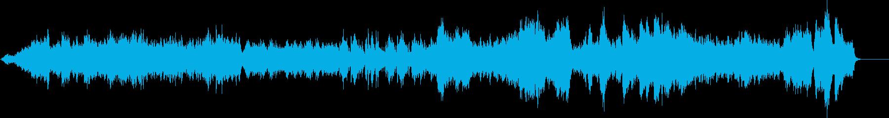 ショパンワルツOp.42のカバー曲の再生済みの波形
