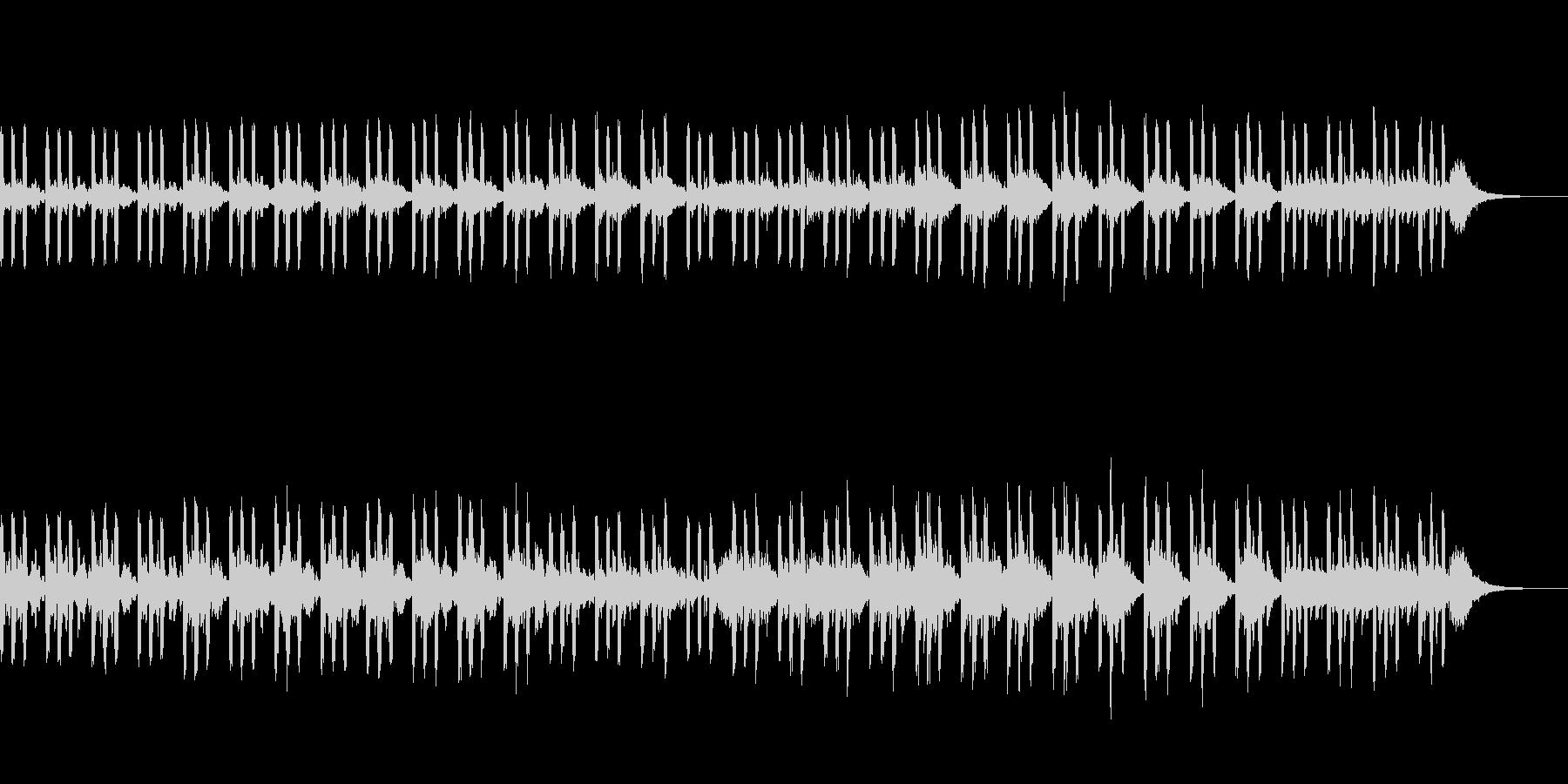 シンセ中心の不気味な曲です。の未再生の波形