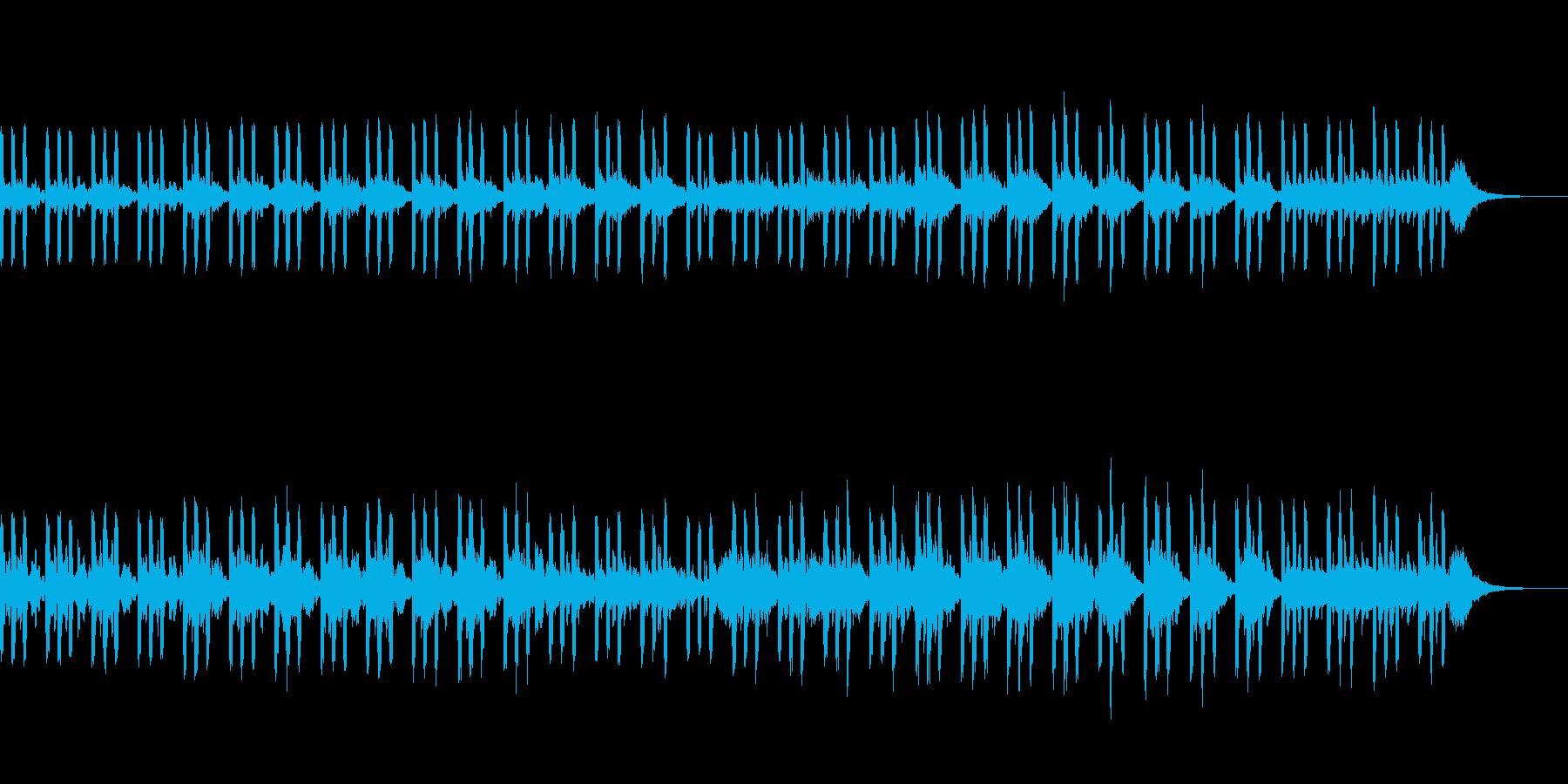 シンセ中心の不気味な曲です。の再生済みの波形