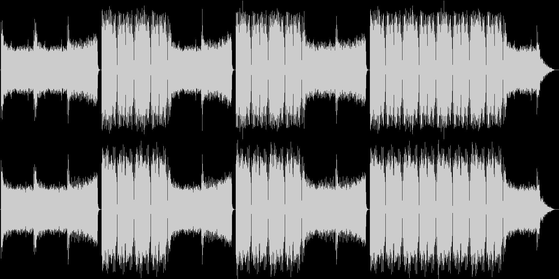 EDMクラブ系ダンスミュージック-08の未再生の波形