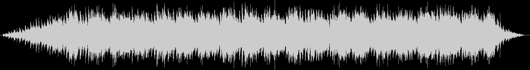 スローモーション映像に使えるBGMの未再生の波形