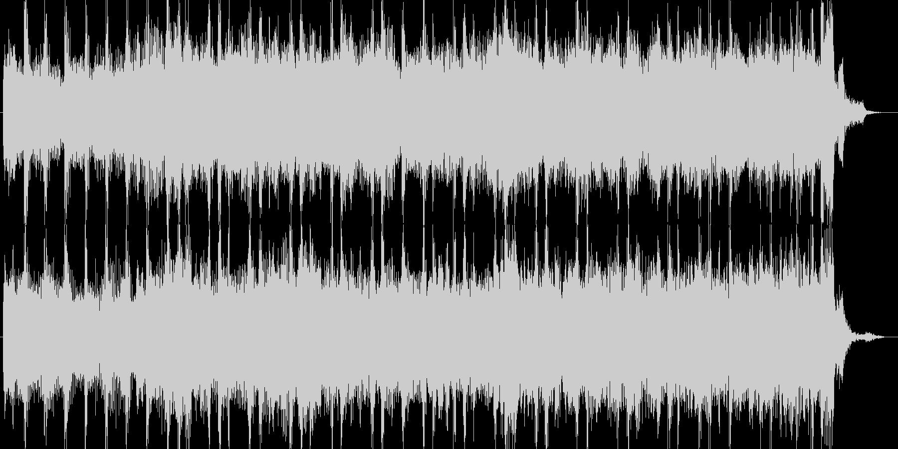 ロックCMオーケストラエレキ企業PVの未再生の波形