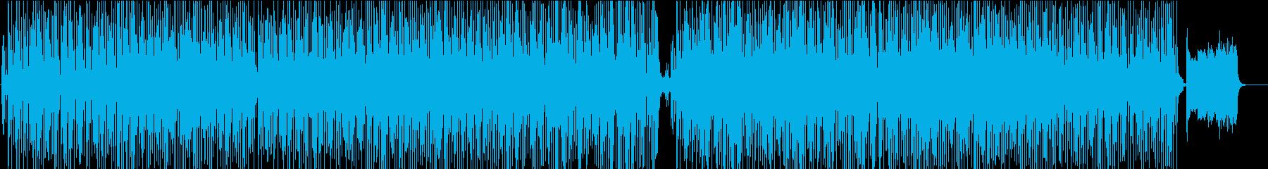 三味線と箏と笛を使った大人っぽい和風曲の再生済みの波形