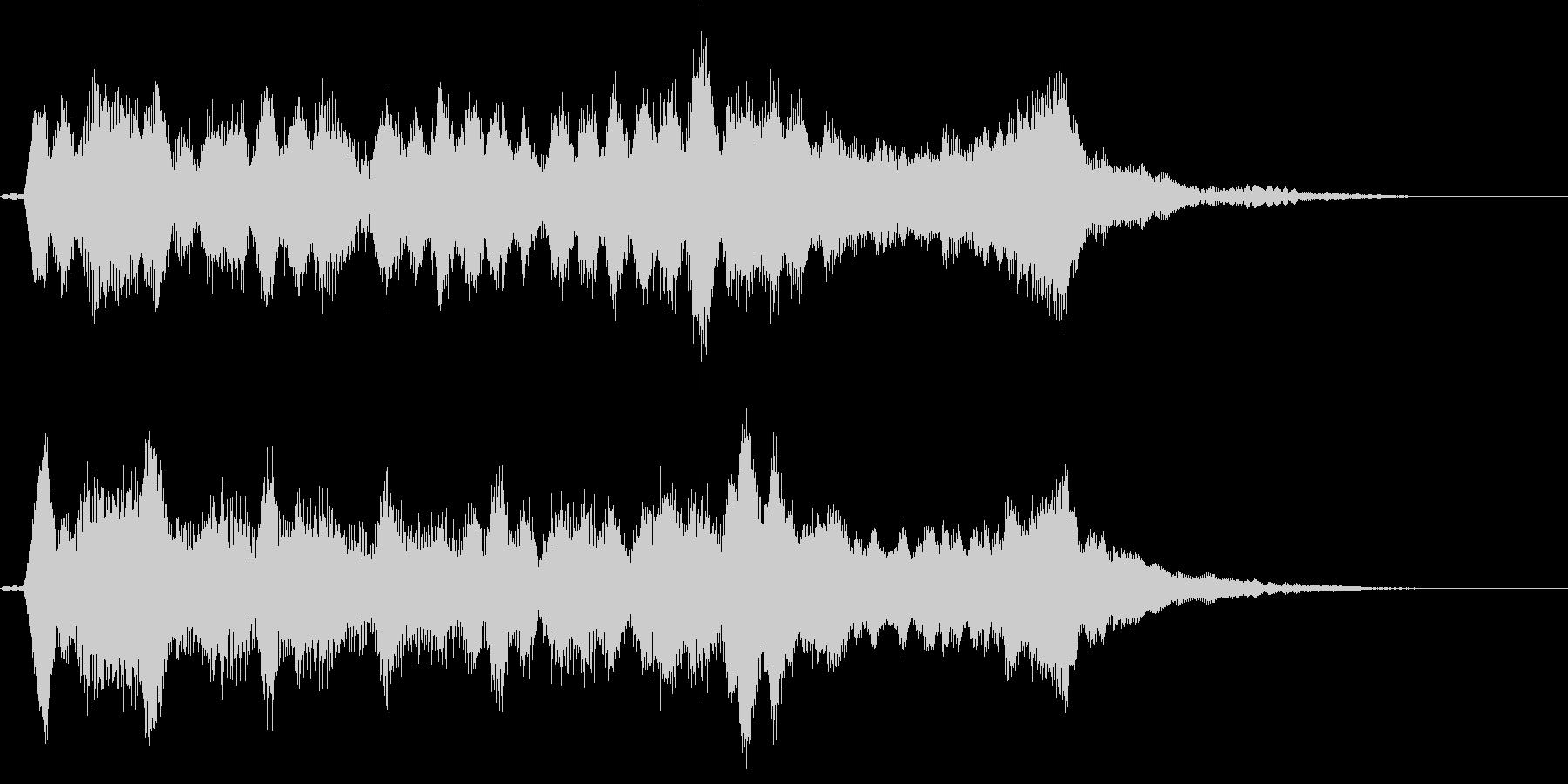 リアル弦楽四重奏の美しい重なりが印象的の未再生の波形