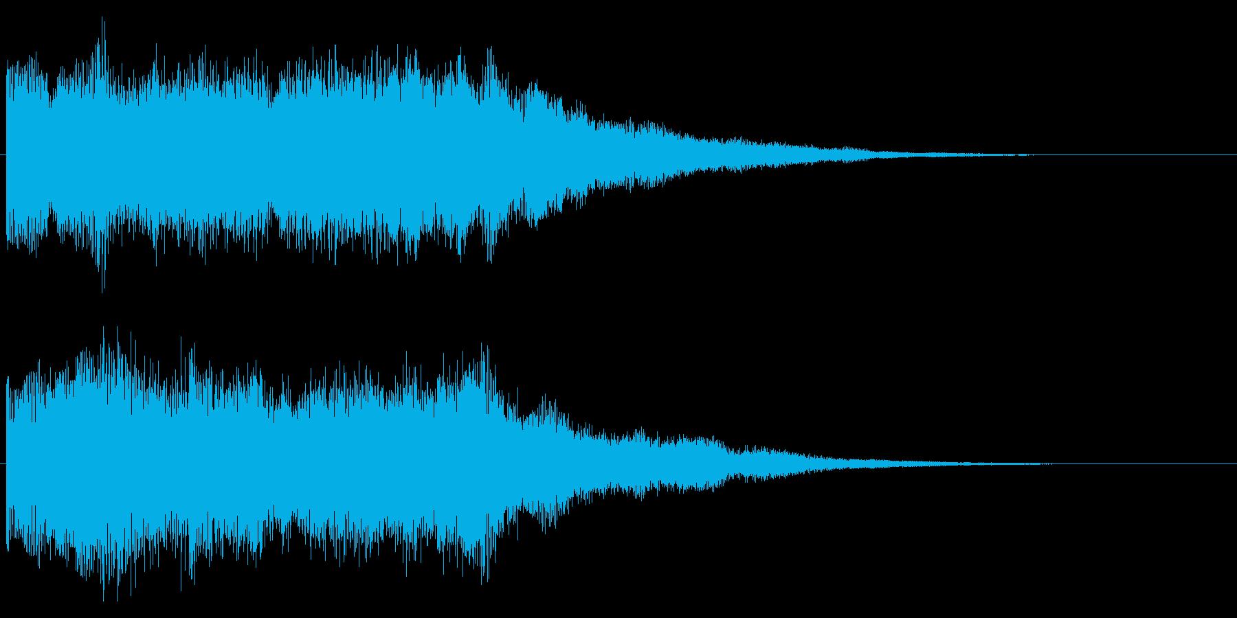 ゲームクリア 場面転換 シーンの切り替えの再生済みの波形