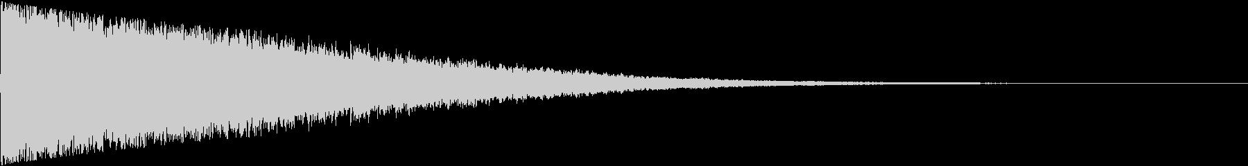 キーン(超音波みたいな電子音)の未再生の波形
