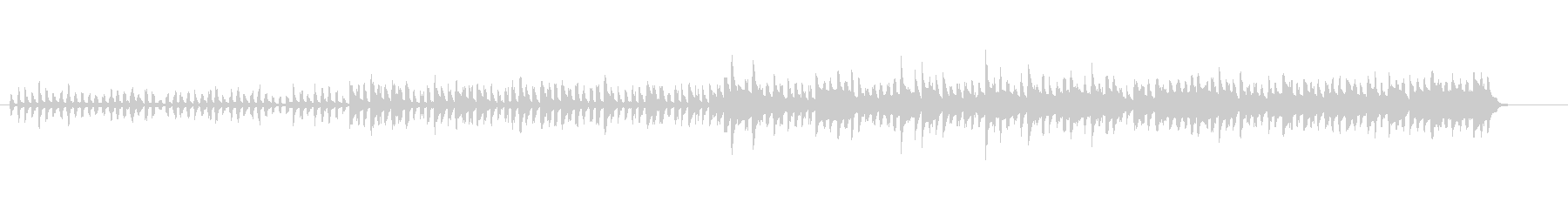 ヨーロピアン・スロー・ワルツの未再生の波形