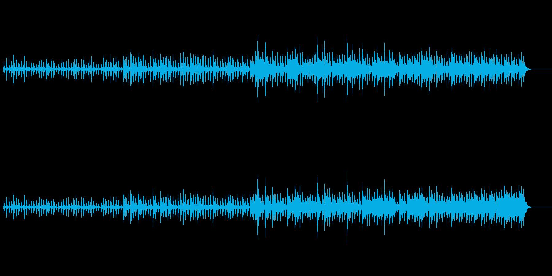 ヨーロピアン・スロー・ワルツの再生済みの波形