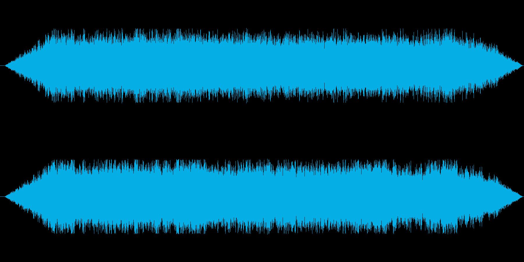 クワイヤを用いたホラーBGMの再生済みの波形