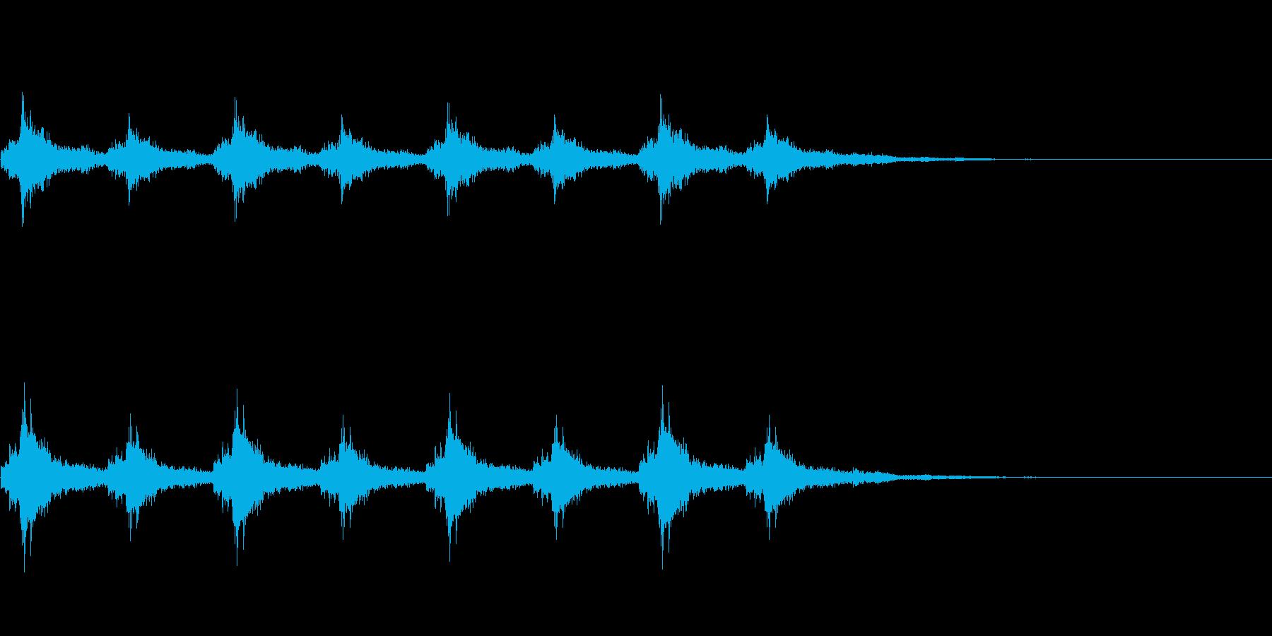 シャンシャン(クリスマス・鈴の音)の再生済みの波形