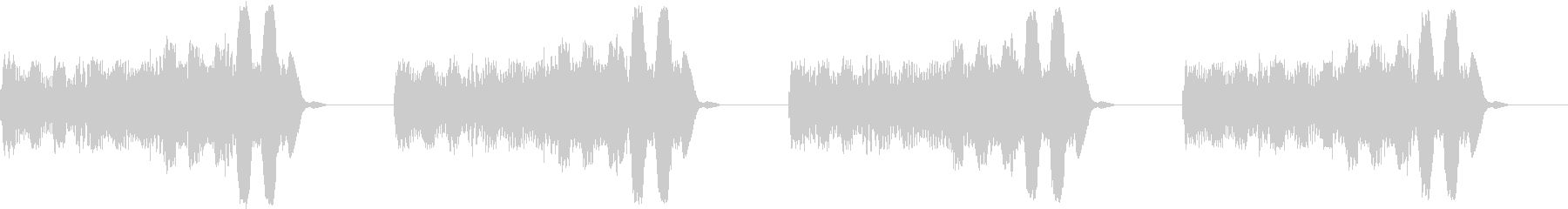 アラーム 電話 未来的 宇宙船 ブザー2の未再生の波形