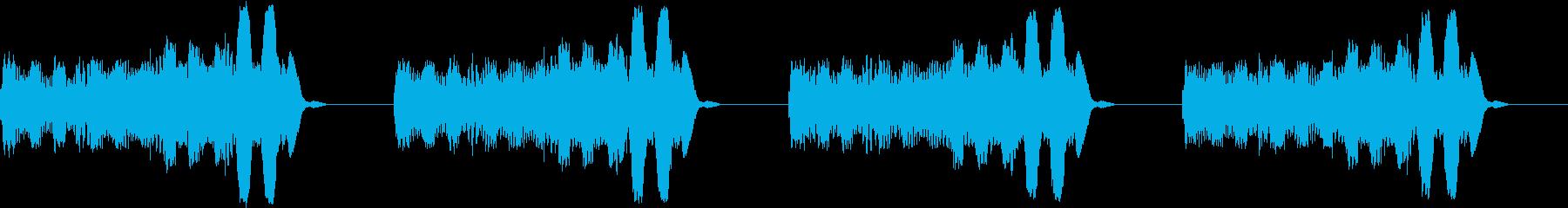 アラーム 電話 未来的 宇宙船 ブザー2の再生済みの波形