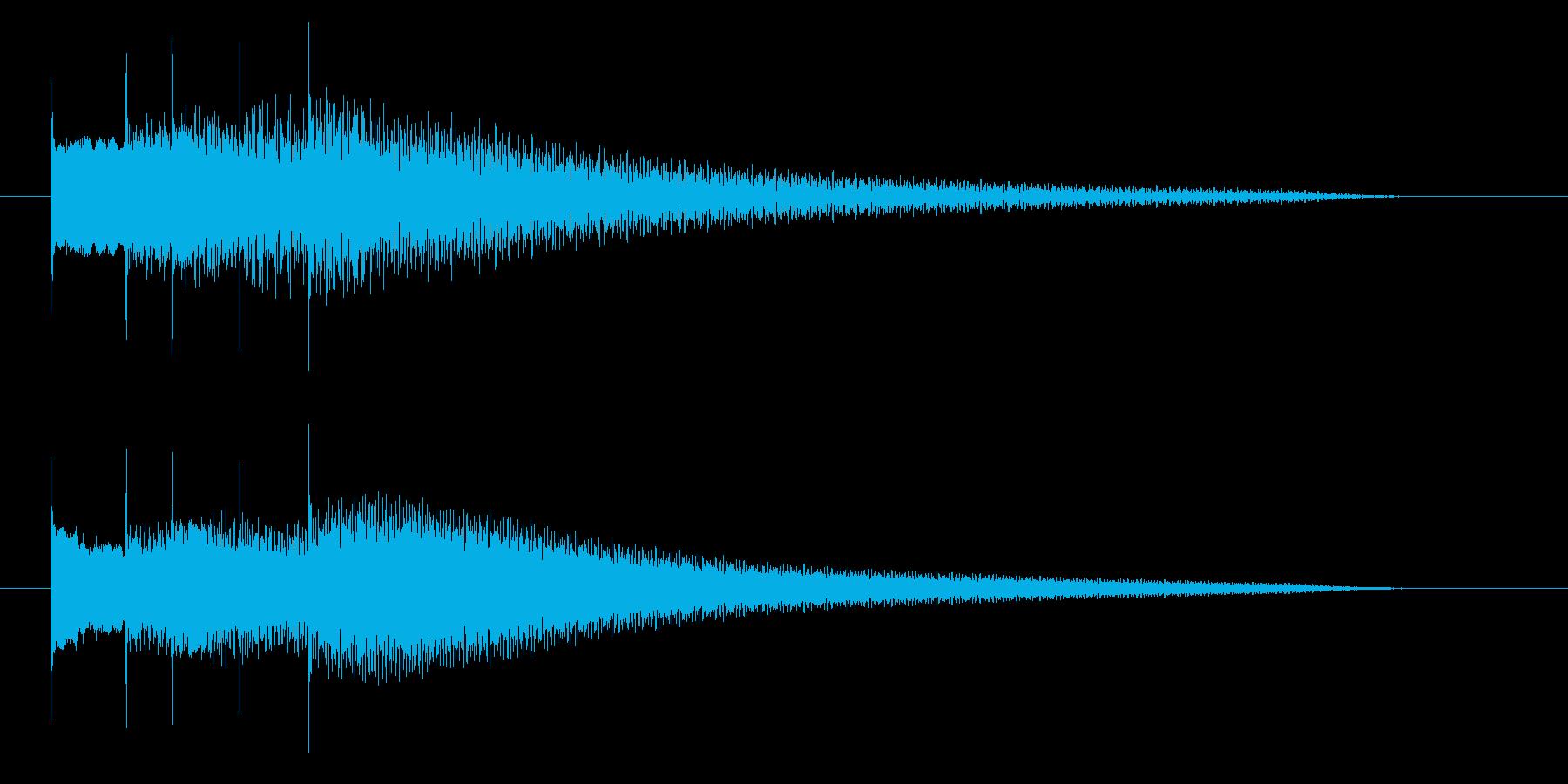 シャラララン 変身 キラーン 魔法の再生済みの波形