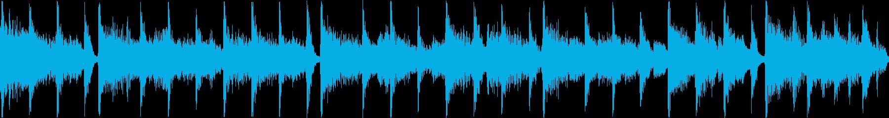 80年代風アメリカンポップジングルループの再生済みの波形