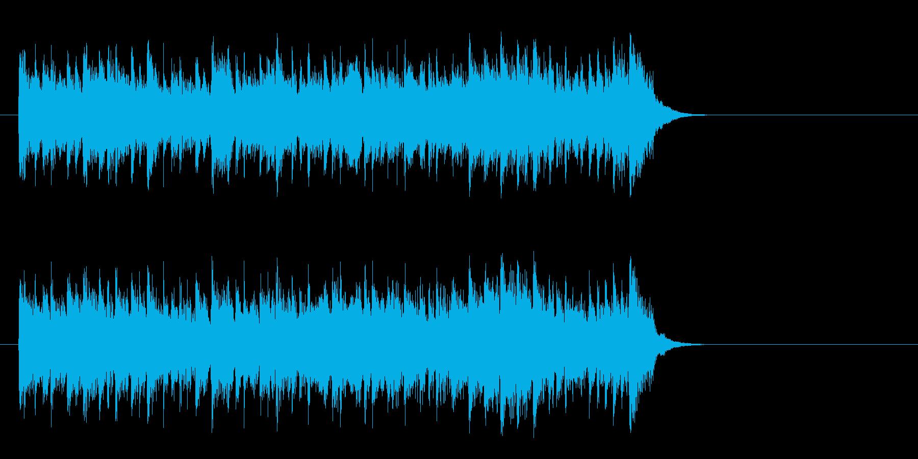 優しいライト・ポップス(サビ)の再生済みの波形