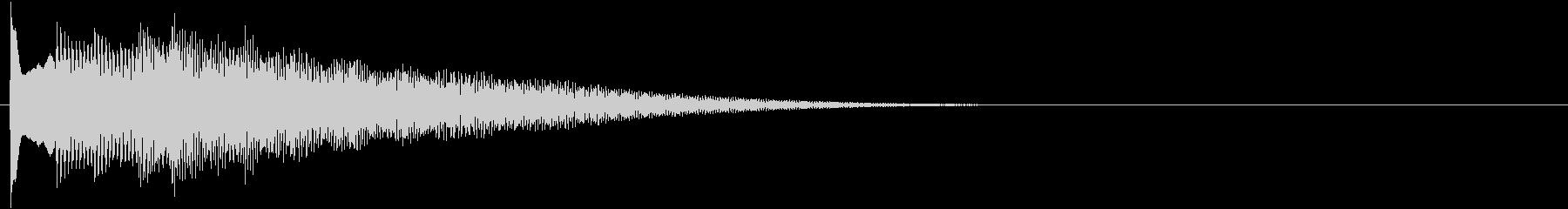 フレーズ系05 文字、スーパー表示(中)の未再生の波形