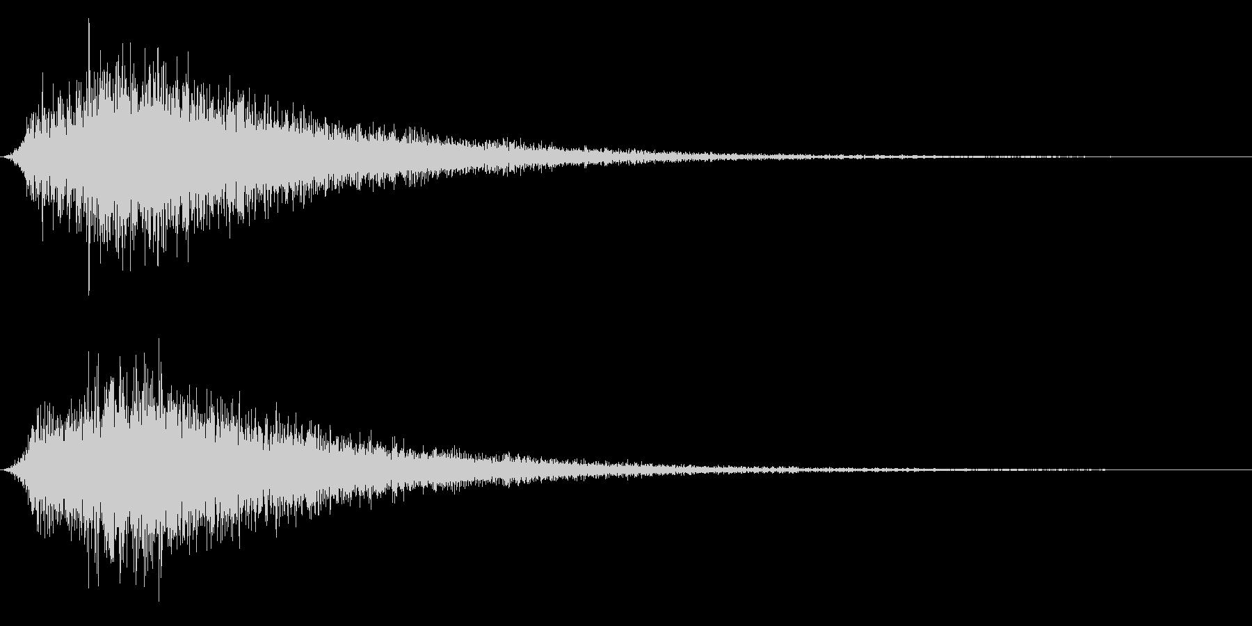 シューン(出現/風/戦闘開始)の未再生の波形