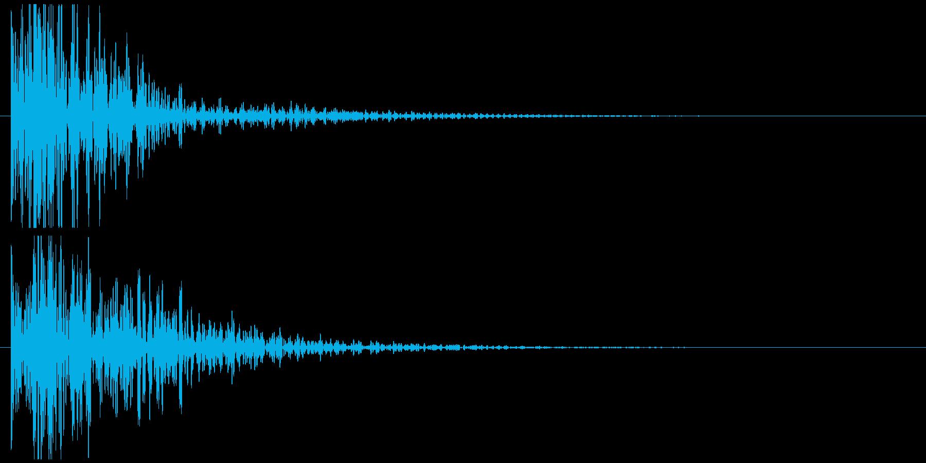 ドドン! 和太鼓 の再生済みの波形