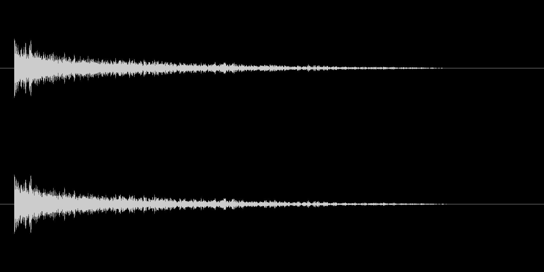 【アクセント20-2】の未再生の波形