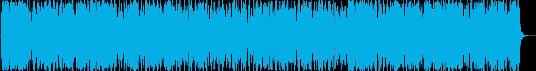 かわいらしいポップスの再生済みの波形
