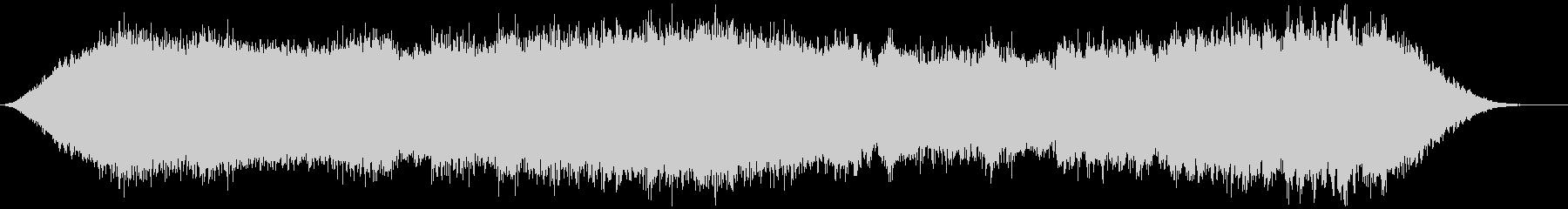 神秘的な雰囲気のアンビエント(背景音)6の未再生の波形