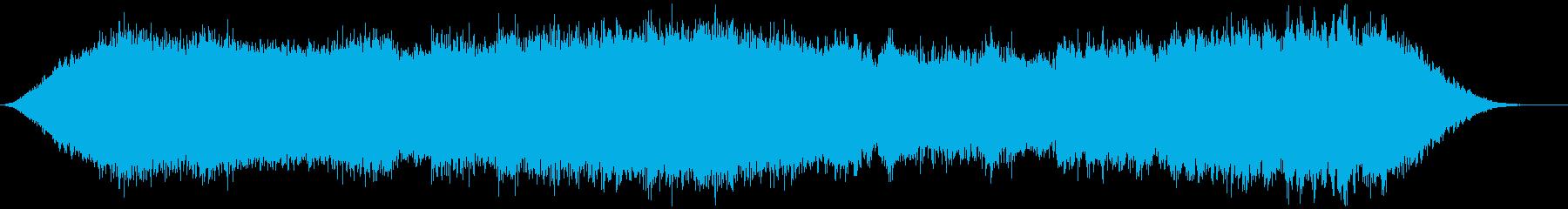 神秘的な雰囲気のアンビエント(背景音)6の再生済みの波形