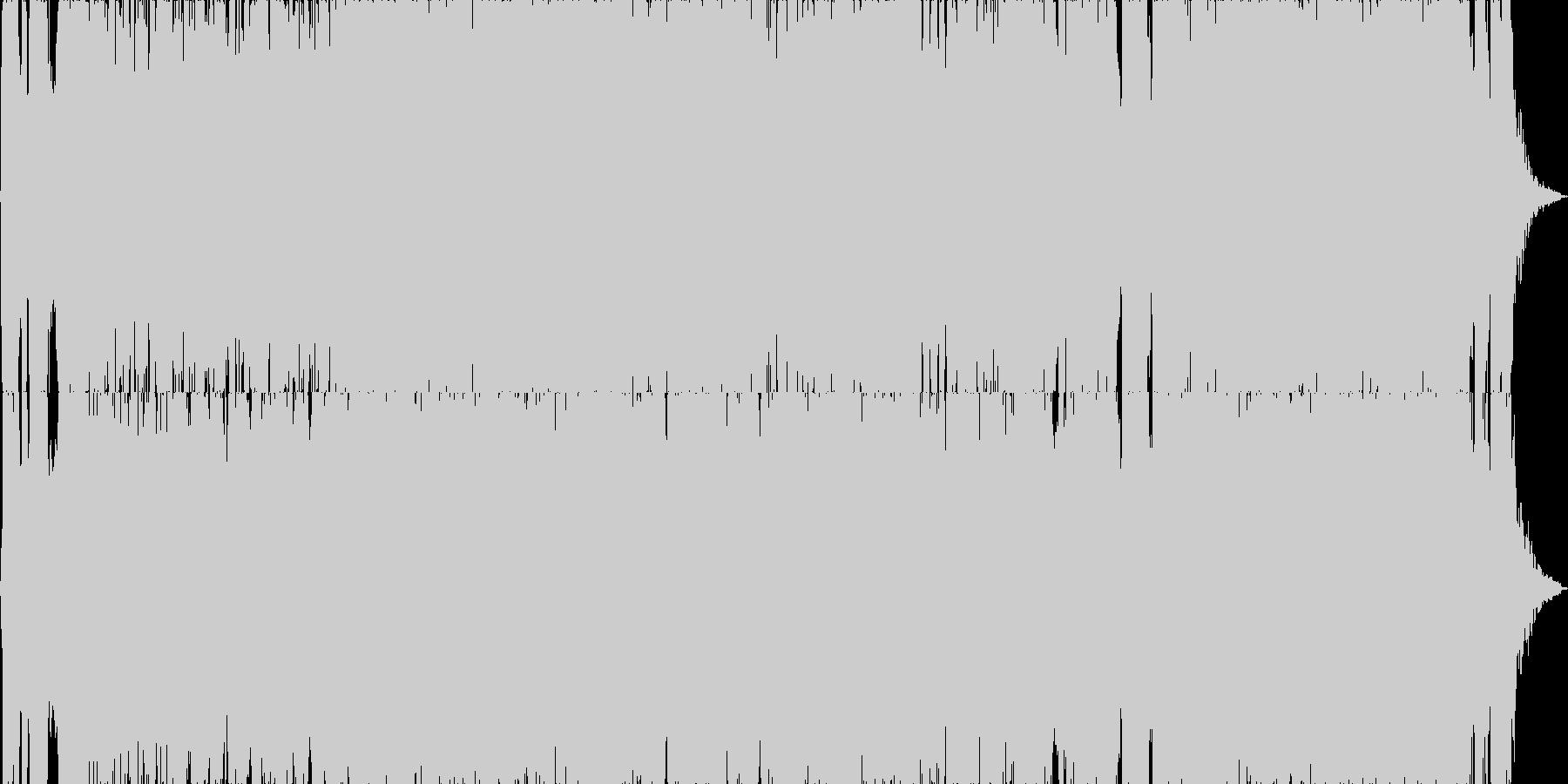 映画・ゲーム用バトルBGM13の未再生の波形