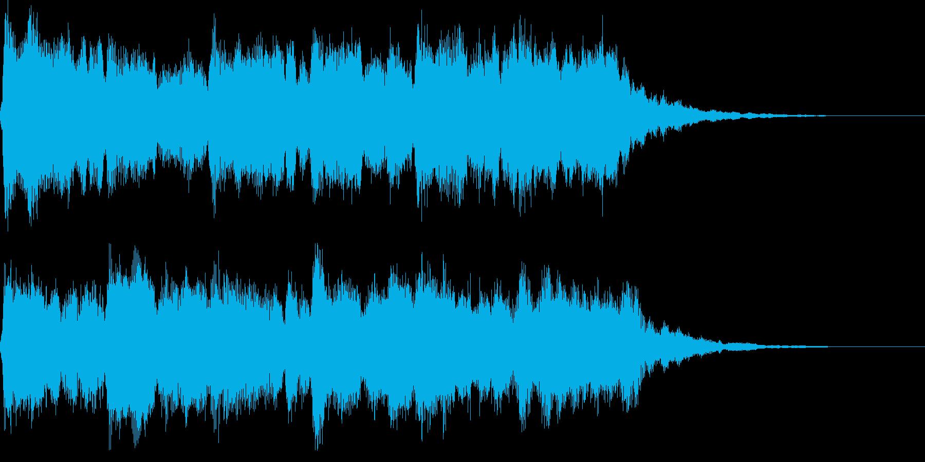 【遥かな旅】ストリングス&木管 ジングルの再生済みの波形