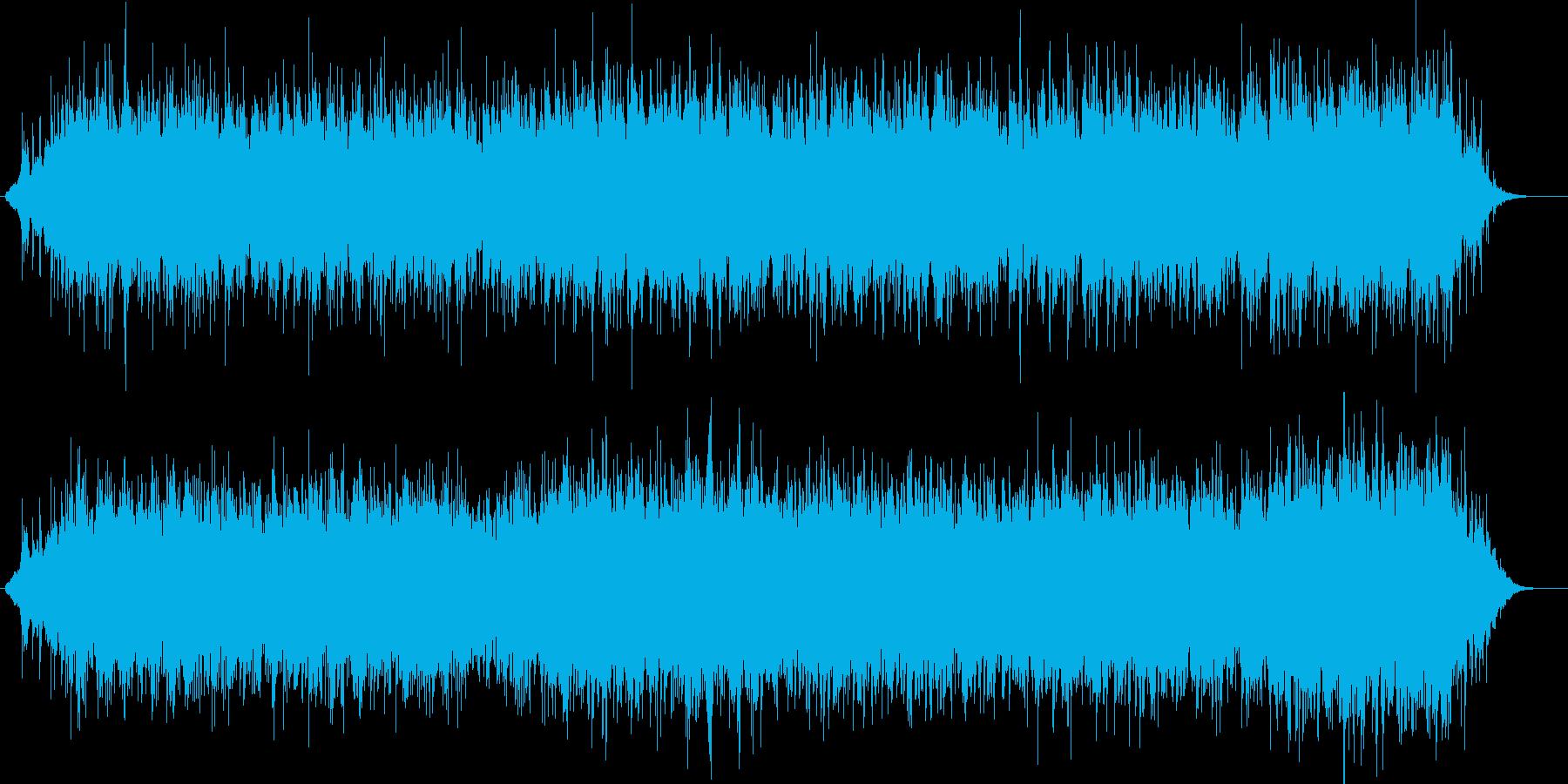 穏やかで明るいロマンチックな電子系BGMの再生済みの波形