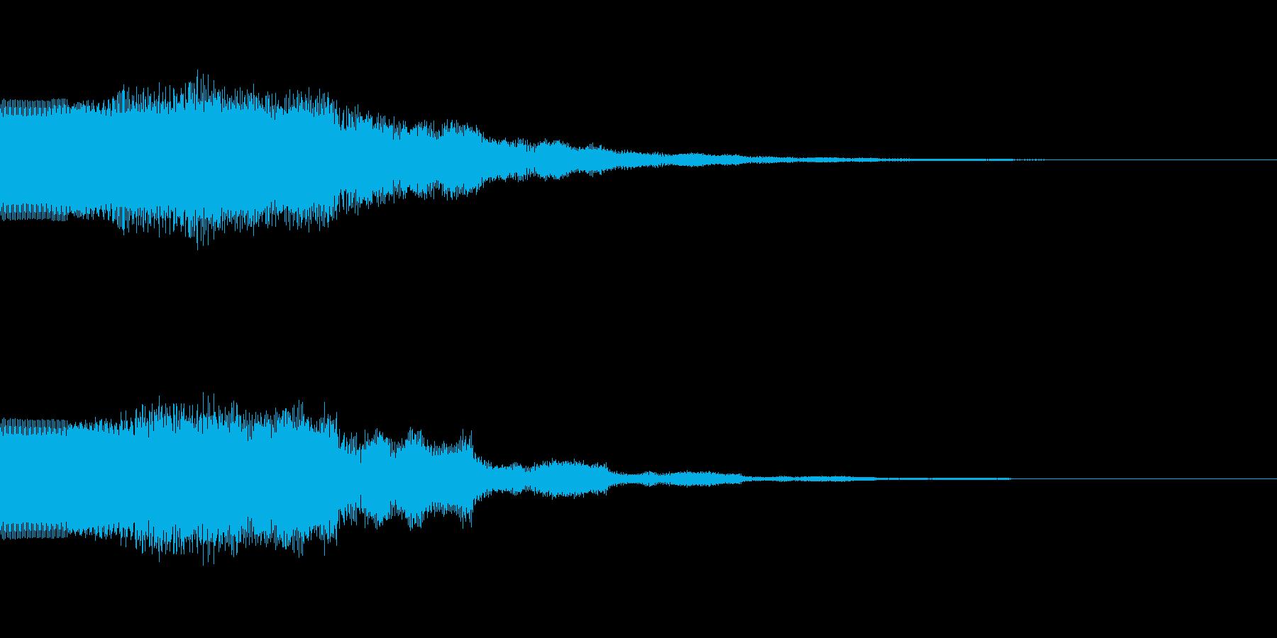 ベーシックなキラキラ音です。の再生済みの波形