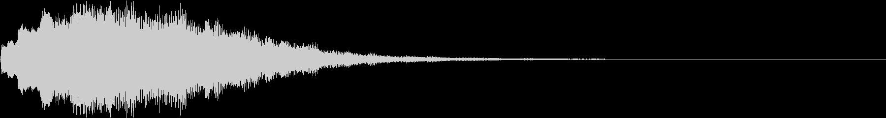 クリスマス ジングルベル キラキラ 01の未再生の波形