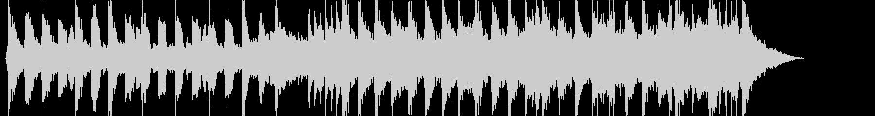 フレンチPOPなハプシコードの曲の未再生の波形