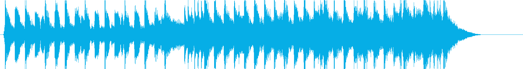 フレンチPOPなハプシコードの曲の再生済みの波形