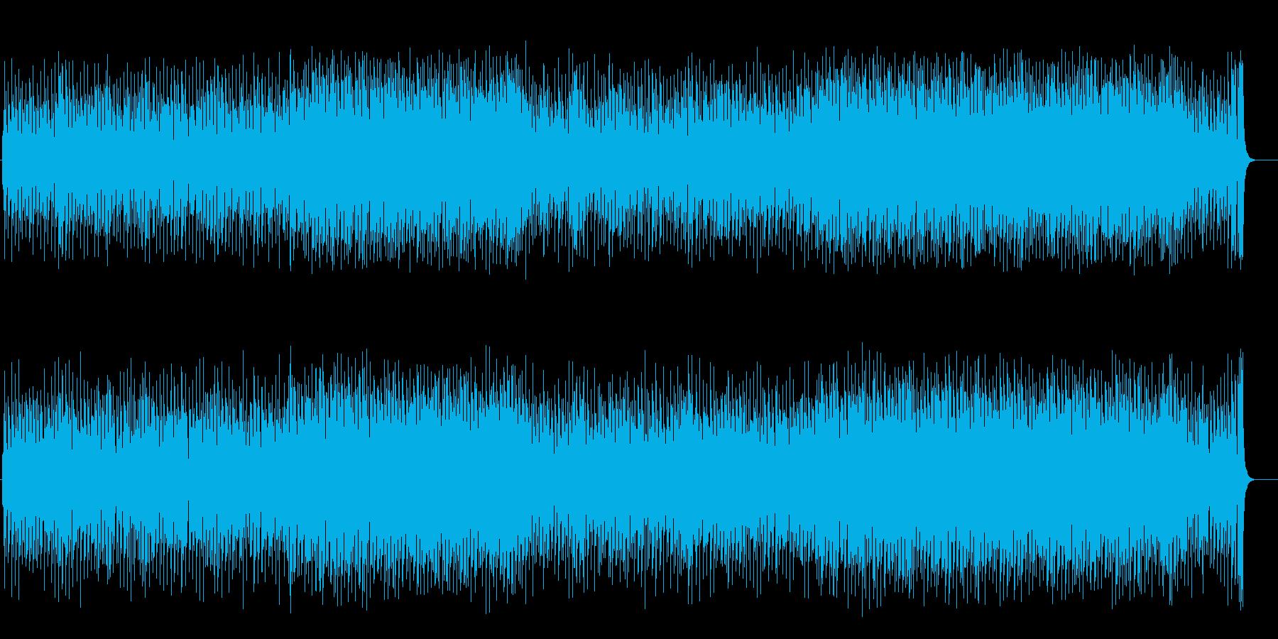 かわいいクラシカルポップ(フルサイズ)の再生済みの波形