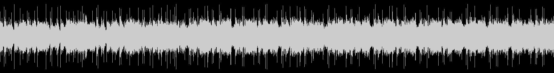 メロトロンのノスタルジックな曲の未再生の波形