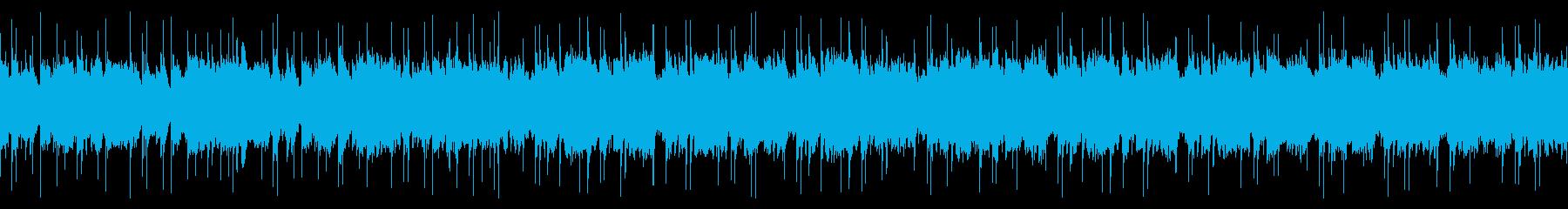 メロトロンのノスタルジックな曲の再生済みの波形