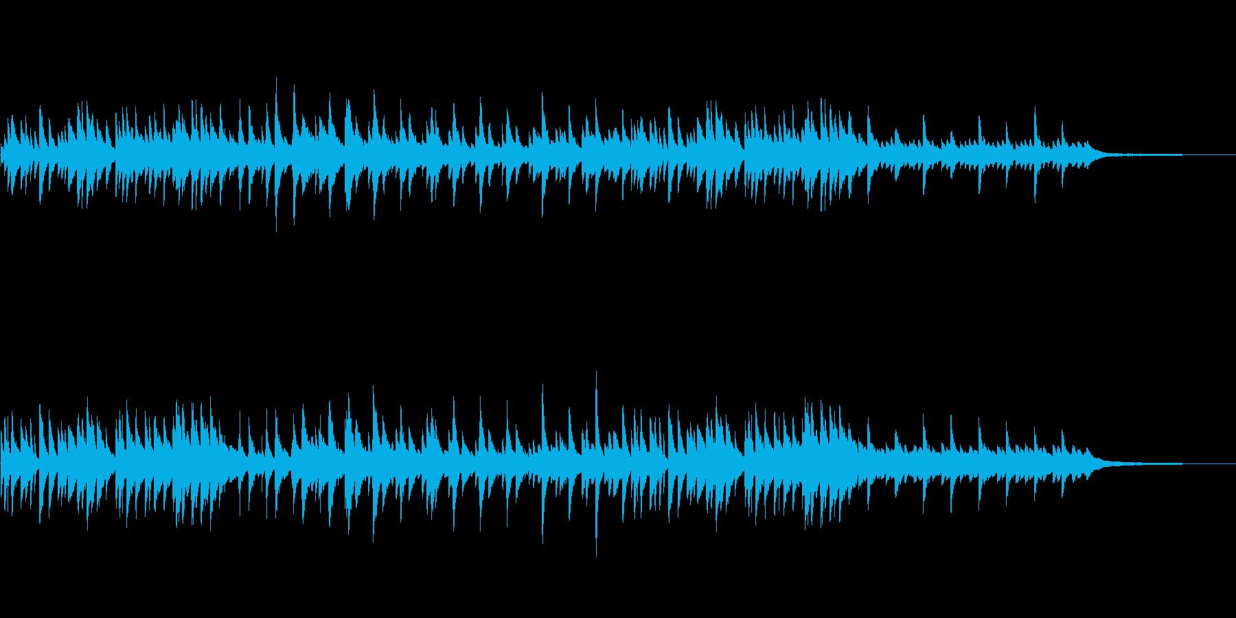 しっとり・せつない・ピアノ・インスト曲の再生済みの波形