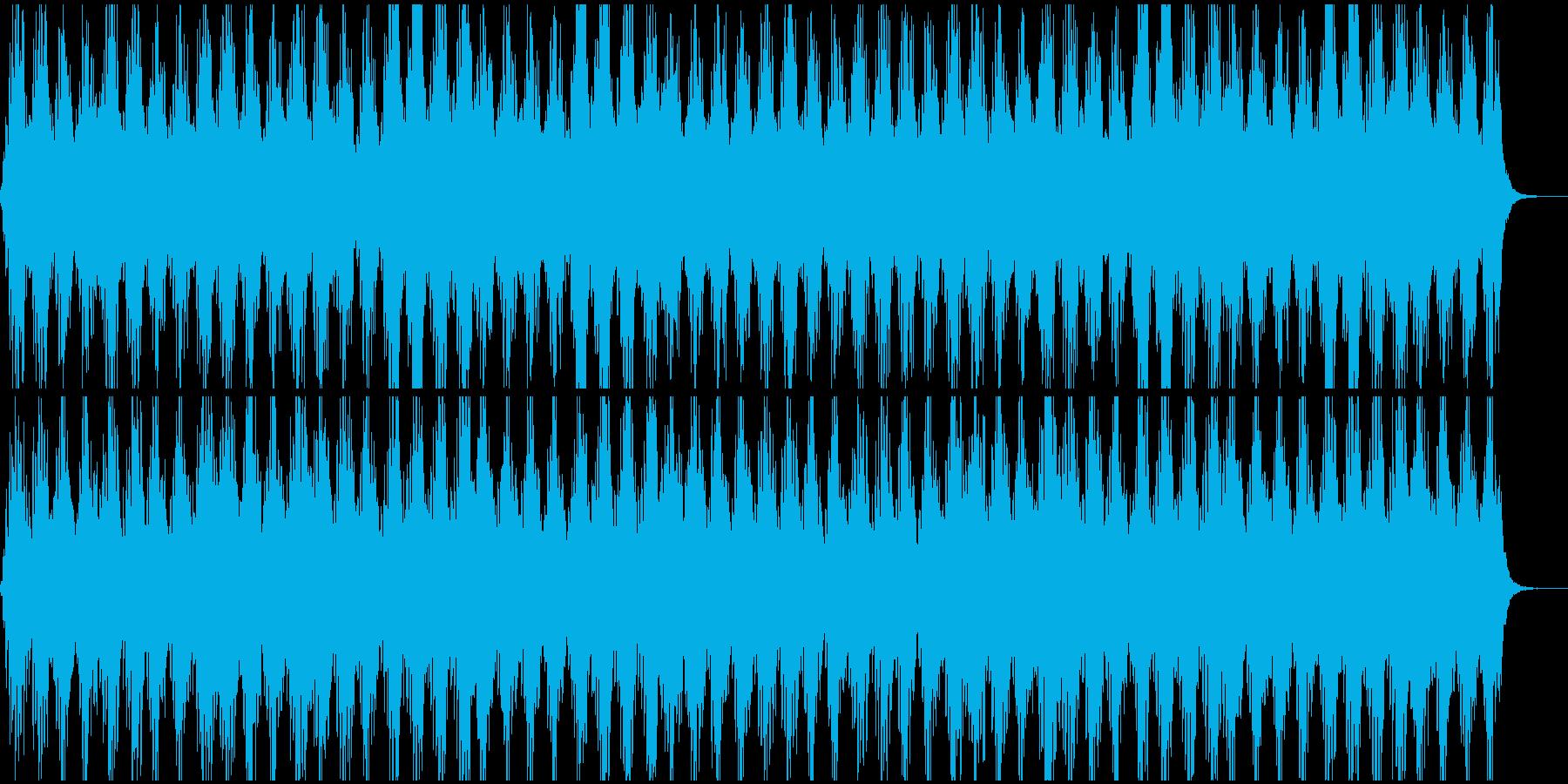 宇宙に漂うようなアンビエントの再生済みの波形