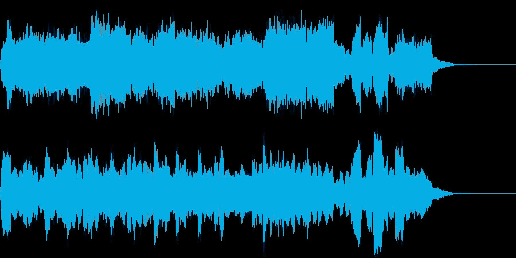 心洗われる旋律、教会風、パイプオルガンの再生済みの波形