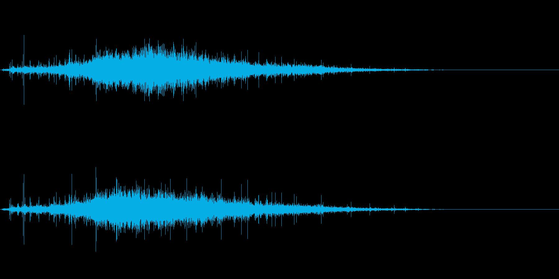 歓声2 (パチパチ…ワオッ!パチパチパ…の再生済みの波形