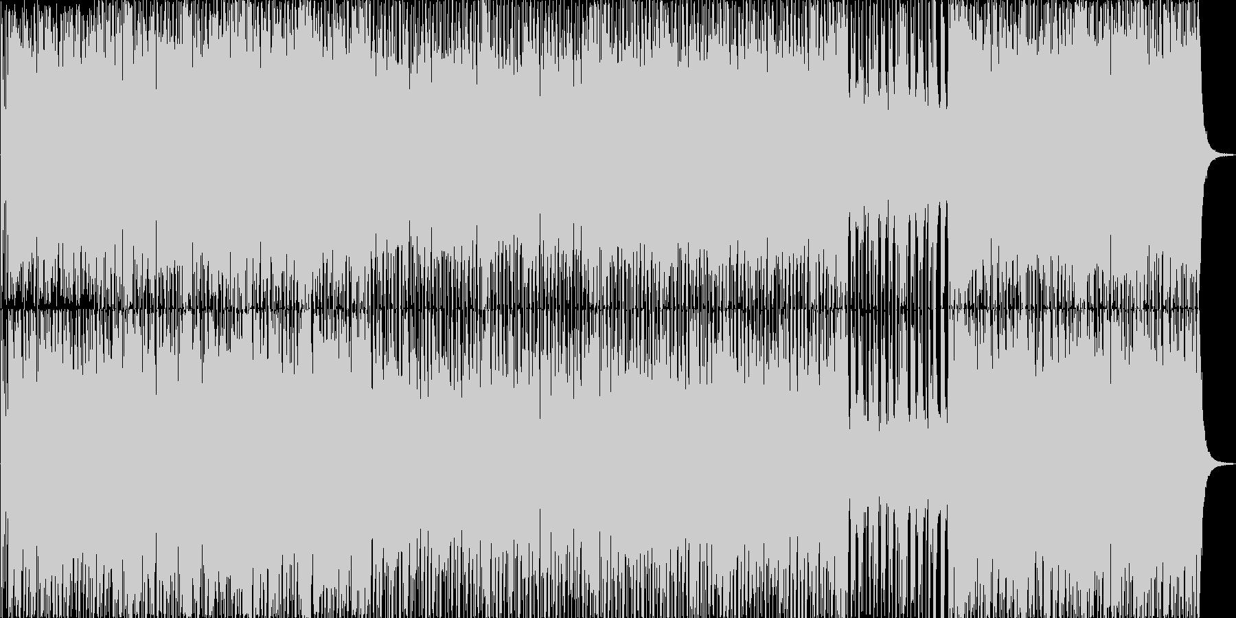 南国(日本)風ボーナスステージBGMの未再生の波形