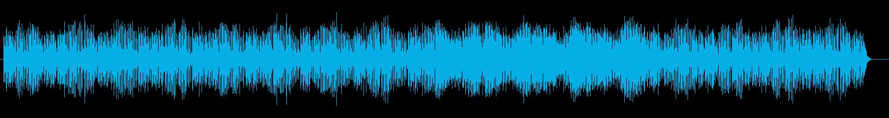 宇宙感と疾走感のシンセテクノサウンドの再生済みの波形