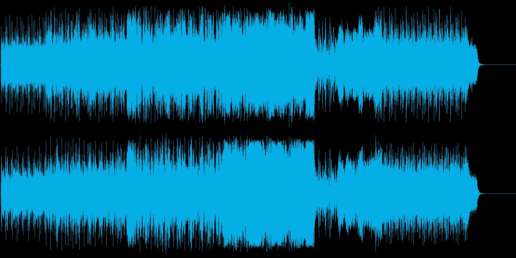 コミカルでほのぼのした楽しげなポップの再生済みの波形