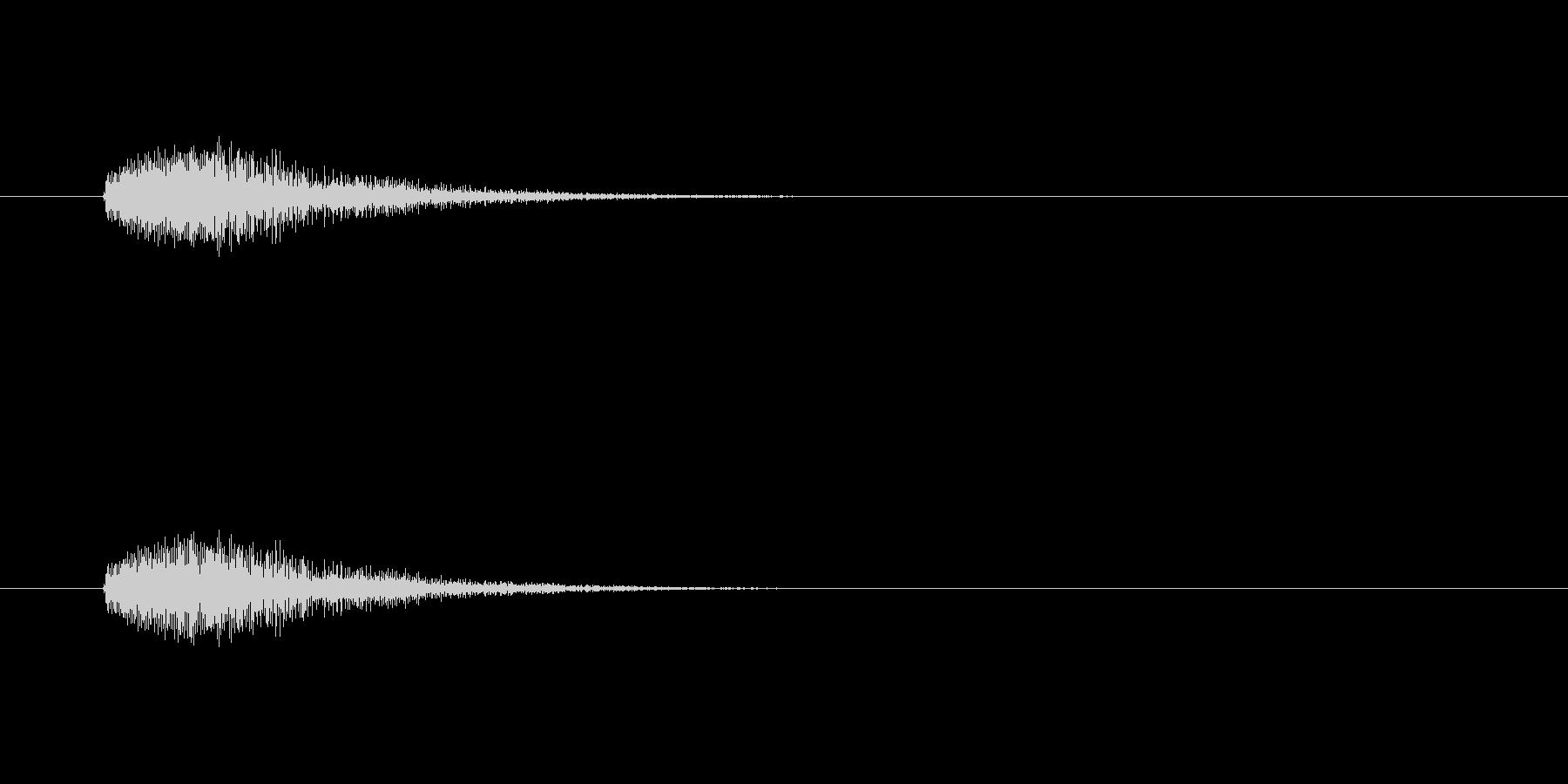 【カラス 合成01-5】の未再生の波形