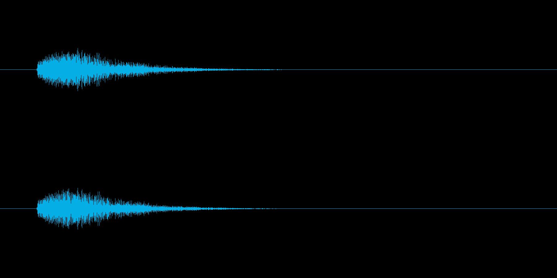 【カラス 合成01-5】の再生済みの波形