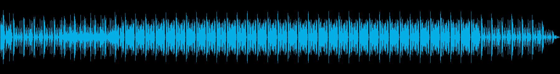 テクノ、ファンキーの再生済みの波形