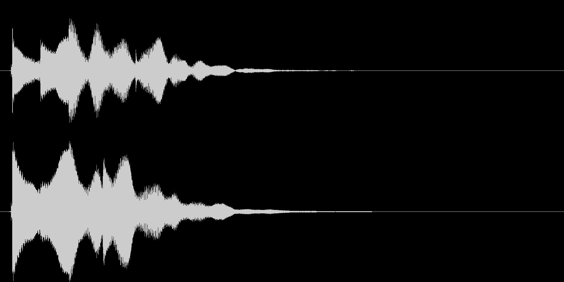 アイテムgetの未再生の波形